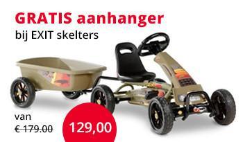 EXIT go-carts met aanhanger