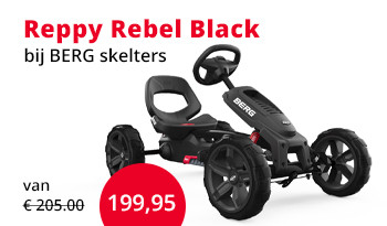 BERG go-carts Reppy Rebel Black