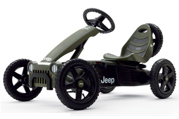 BERG Jeep Adventure go-cart.