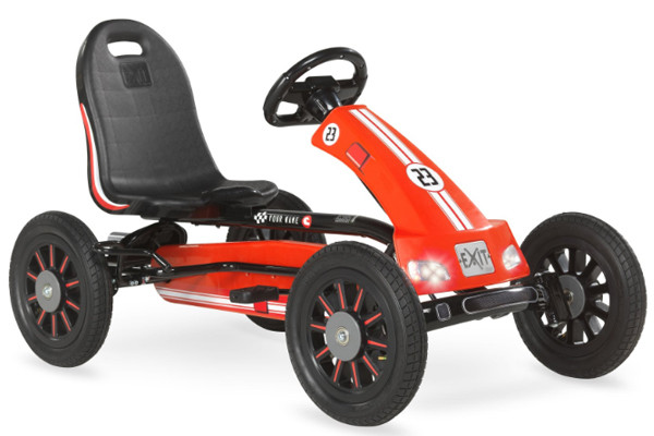 De EXIT Spider Race go-cart.